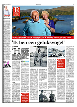 <strong>Old fighterpilot Jan Linzel</strong>